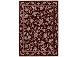 "Shaw Living Arabesque Coventry Area Rug Cannon Black 2'  x 2' 9"" 3K06500500"