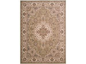 "Shaw Living Arabesque Easton Area Rug Pale Leaf 7' 9"" x 10' 10"" 3K06902300"