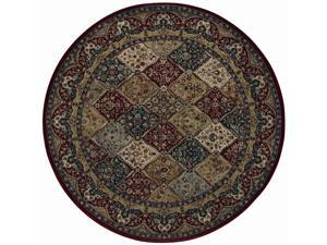 "Shaw Living Arabesque Stratford Area Rug Multi 7' 5"" Round 3K07001440"