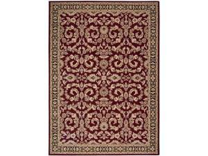 "Shaw Living Arabesque Juliard Area Rug Firebrick Red 9' 6"" x 13' 3K07103800"