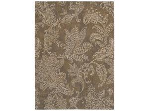 "Shaw Living Pacifica Santa Barbara Area Rug Antique Gold 2'  x 2' 9"" 3K07305200"