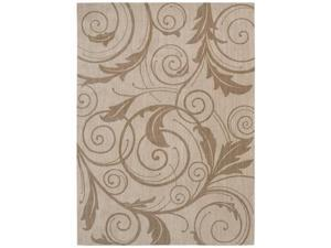 "Shaw Living Pacifica Gillian Area Rug Ivory Cream 7' 9"" x 10' 10"" 3K07701100"