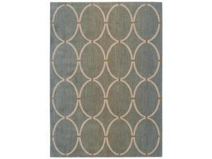 "Shaw Living Pacifica Legacy Area Rug Pale Leaf 3' 6"" x 5' 6"" 3K08104300"