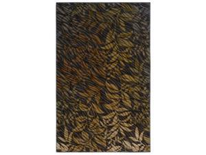 Shaw Living Centre Street Flourish Area Rug Brown 3' x 5' 3P18306700