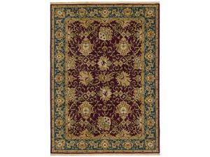 "Shaw Living Antiquities Casablanca Area Rug Brick 3' 10"" x 5' 7"" 3V00392800"