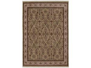 """Shaw Living Kathy Ireland Home Int'l First Lady Stateroom Area Rug State Garden Green 9' 6"""" x 13' 1"""" 3V17604300"""