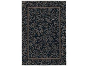"Shaw Living Timber Creek By Phillip Crowe Englewood Area Rug Onyx 2' 2"" x 3' 3"" 3V45505500"