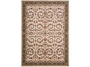 """Shaw Living Timber Creek By Phillip Crowe Mystic Canyon Area Rug Scarlet 5' 5"""" x 7' 8"""" 3V45817800"""