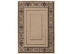 "Shaw Living Timber Creek By Phillip Crowe Bungalow Area Rug Beige 6' 6"" x 9' 3V47602100"