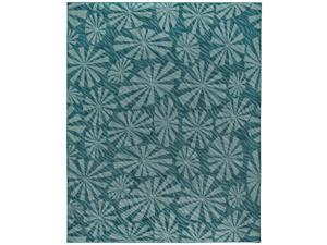 "Shaw Living Timber Creek By Phillip Crowe Bungalow Area Rug Evergreen 6' 6"" x 9' 3V47602300"