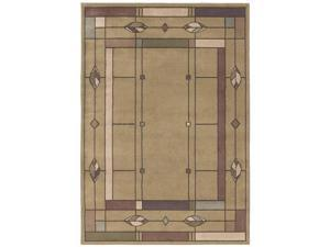 "Shaw Living Timber Creek By Phillip Crowe Mission Leaf Area Rug Sage 6' 6"" x 9' 3V47608310"