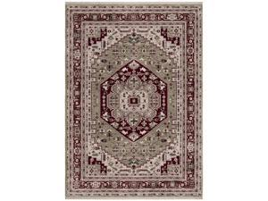 "Shaw Living Renaissance Bergamo Area Rug Light Green 3' 6"" x 5' 3"" 3V50303300"
