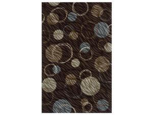 "Shaw Living Renaissance Bergamo Area Rug Dark Brown 3' 6"" x 5' 3"" 3V50303710"