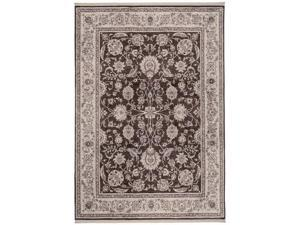 "Shaw Living Renaissance Monaco Area Rug Dark Brown 7' 9"" x 11' 1"" 3V50505710"