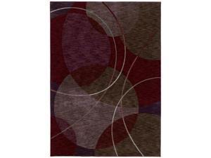 """Shaw Living Renaissance Circa Area Rug Cranberry 7' 9"""" x 10' 10"""" 3V51501800"""