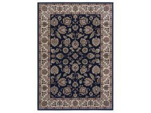 "Shaw Living Inspired Design Chateau Garden Area Rug Black 7' 8"" x 10' 10"" 3V81102500"