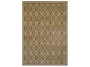 "Shaw Living Inspired Design Kingsley Area Rug Gold 7' 8"" x 10' 10"" 3V81110200"