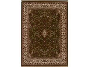 "Shaw Living Kathy Ireland Home Gallery Garden Fantasy Area Rug Brown 2' 2"" x 3' 5"" 3X30511700"
