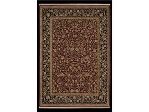 "Shaw Living Antiquities English Garden Area Rug Brick 3' 10"" x 5' 7"" 3X65671800"