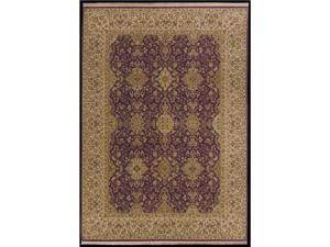 "Shaw Living Antiquities Khorassan Area Rug Brick 9' 6"" x 13' 1"" 3X65875800"