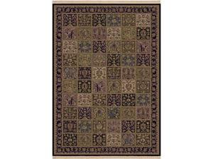 "Shaw Living Kathy Ireland Home Essentials Buckingham Area Rug Multi 5' 5"" x 7' 10"" 3X72304440"