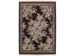 "Shaw Living Kathy Ireland Home Essentials Sonnet Area Rug Garnet 5' 5"" x 7' 10"" 3X72307800"