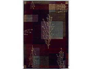 "Shaw Living Accents November Area Rug Multi 5' 3"" x 7' 10"" 3X81009440"