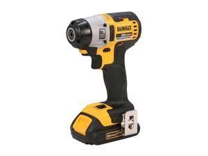 "DEWALT DCF895C2 20V Max Lithium Ion Brushless 3-Speed 1/4"" Impact Driver (1.5AH)"