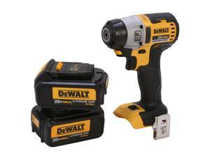 "DEWALT DCF895L2 20V Max Lithium Ion Brushless 3-Speed 1/4"" Impact Driver (3.0AH)"