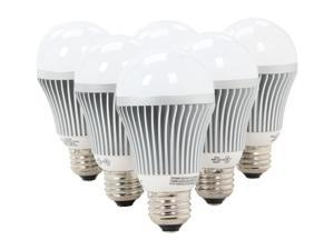 Collection LED A19 6 bulb pack deal / 7 Watt / 40 watt Incandescent replacement / 454 lumen / Warm white / 3065 k  / 40,000 ...