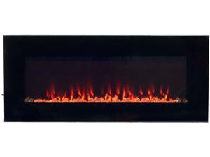 Northwest LED Fire and Ice Electric Fireplace Heater with Remote - 42 Inch