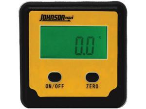 Johnson Level 1886-0000 Magnetic Digital Angle Locator 2 Button