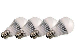 TESS T-66001S4 30 Watt Equivalent 6W LED Light Bulb, 4 Pack