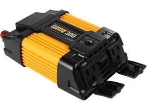 PowerDrive, LLC 300-Watt DC to AC Power Inverter with USB Port and 2 AC Outlet