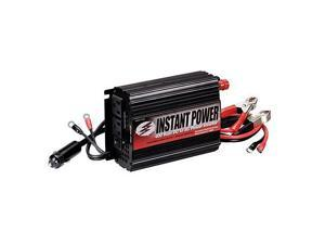 Schumacher  400 Watt Power Inverter with Battery Clamps and 12-Volt Male Adapter Plug (PI-400)