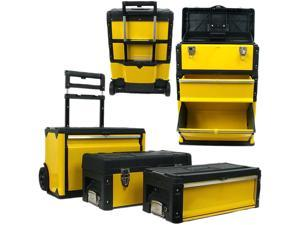 Oversized Portable Tool Chest - Three Tool boxes in One