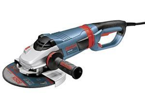 1994-6D 9 in. 4 HP 6,500 RPM Large Angle Grinder w/ No Lock-On
