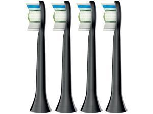 Philips Sonicare HX6064/94 DiamondClean Standard Sonic ToothBrush Heads, 4-pack