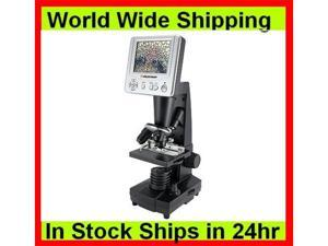Celestron Digital Microscope w/ 3.5 inch LCD Screen, 2.0 MP Digital Camera 44340