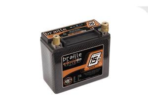 Braille Carbon Fiber AGM Battery B2015C