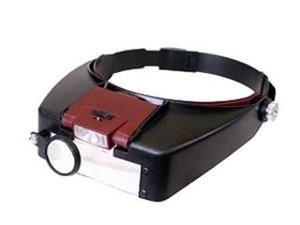 LED Headlamp Magnifier w/ 3 Lenses