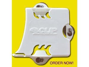 EZ Pass White Toll Pass Transponder Holder for NY, NJ, NH, ME, MA, Il, DE, MD, SC, VA, PA, IN