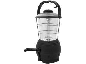SUPER BRIGHT Hand Crank Operated 12 LED Lantern w/Com