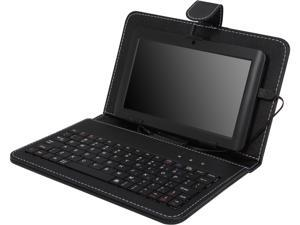 PROSCAN PLT7044K 7 Inch Android Tablet, Capacitive Touch Screen, Android 4.1 Jelly Bean, With Case and Keyboard Bundle