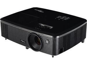"Optoma HD142X 1080P Full HD Home Entertainment Projector, 3000 ANSI Lumens, 23000:1 Contrast Ratio, 27.88"" - 305.3"" Projection Screen Size, HDMI, MHL, USB, Built-in Speaker"