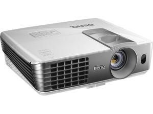 "BenQ HT1070 1080P Sports Games Home Entertainment Projector, 2000 ANSI Lumens, 10000:1 Contrast Ratio, 30""-300"" Image Size, HDMI, USB, Built-in Speaker"