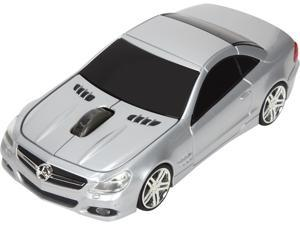 Road Mice Mercedes SL550 HP-11MBS5SXA Silver RF Wireless Optical Mouse