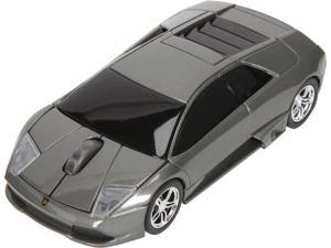 Road Mice HP-11LGMCGXA Lamborghini Murcielago Series Car Mouse - Gray