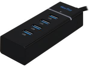 HooToo® HT-UH007 USB 3.0 HUB (4 Port, Bus-Powered, Built-in 1ft USB 3.0 Cable)