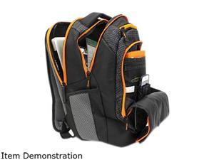 1339b4abcd M-Edge Commuter BPK-CO6-PO-BO Carrying Case Backpack w  Battery for 17